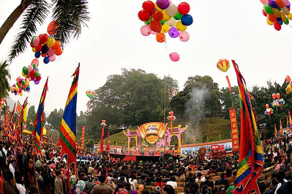 Lễ hội Xuân đền Thượng - Lào Cai