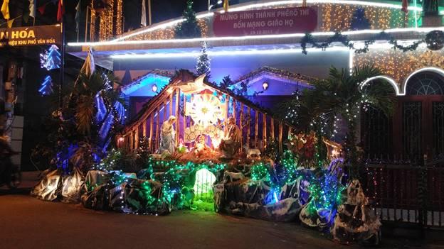 Noel tại Giáo xứ Lộc Hưng