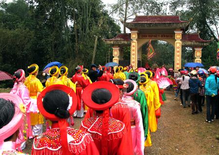 Lễ hội đền Đại Cại