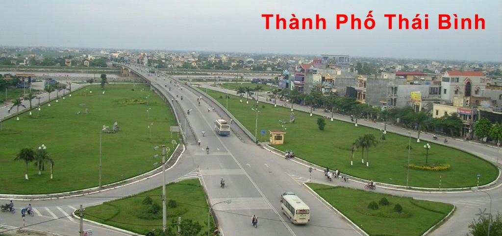 Thành phố Thái Bình ngày nay