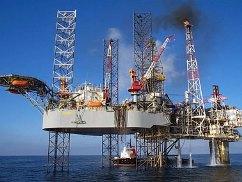 Khai thác khí tại mỏ khí đốt Tiền Hải