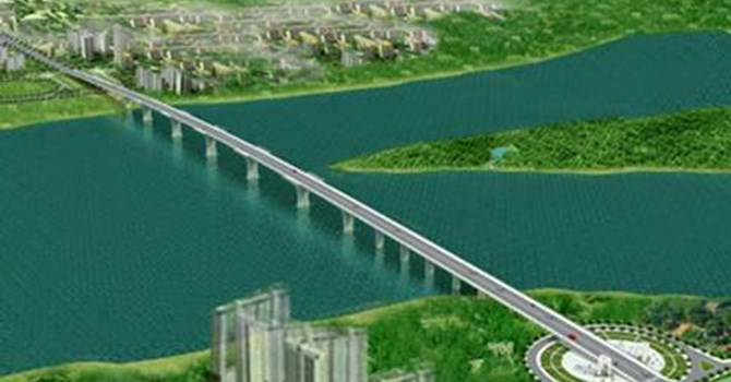 Dự án cầu qua sông Hồng